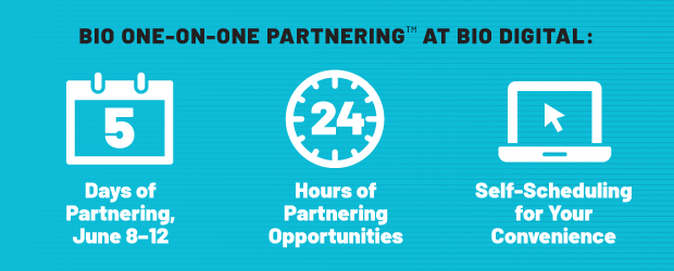 5 days of partnering, 24 hours of partnering opportunities, self-scheduling for your convenience