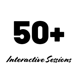 Over 50 interactive sessions