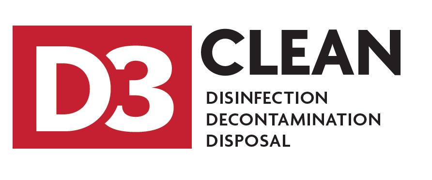 d3 disinfection decontamination disposal