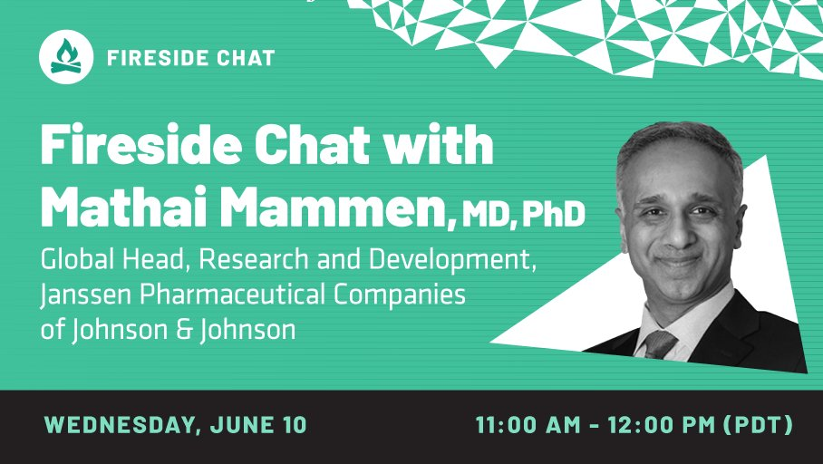Fireside Chat with Dr. Mathai Mammen of Janssen