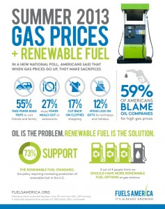 Summer 2013 Gas Prices and Renewable Fuel Poll Results