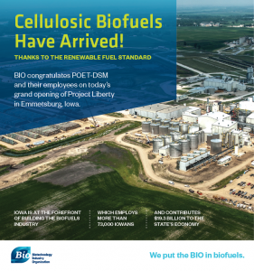 Cellulosic Biofuels Have Arrived, Thanks to the RFS