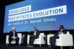 Jim Greenwood, Will Smith and Dr. Bennet Omalu