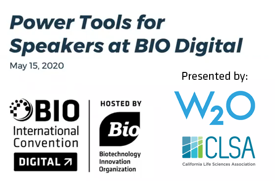 Power Tools for Speakers at BIO Digital