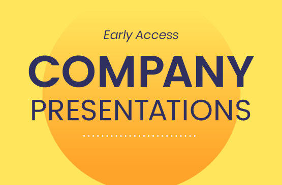 Early Access Company presentations