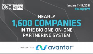 1,600 Companies in the BIO Partnering System: BIO at JPM